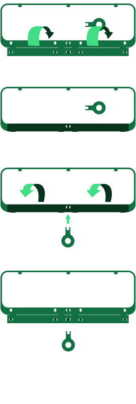 Wechselkennzeichen Rahmen Anleitung