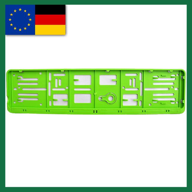 Wechselkennzeichen Rahmen – Farbe – Deutschland/EU – 520×110