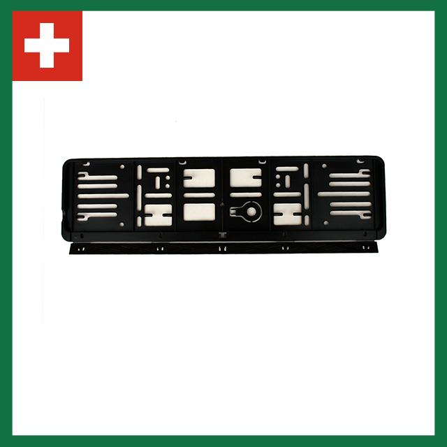 Wechselkennzeichen Rahmen – Farbe – Schweiz – 500×110