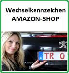 Wechselkennzeichenhalter Amazon