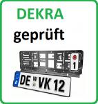 Wechselkennzeichen-HalterDEKRA geprüft