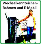 E-Mobile mit Wechselkennzeichen zulassen