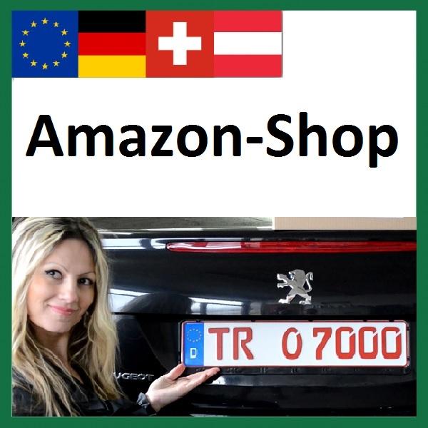 Wechselkennzeichenhalter Amazon, Wechselkennzeichenhalterung, Wechslnummernrahmen, Wechselschilderrahmen, Wechselkontrollschilder, Wechselschilderhalter, Wechselnummernhalter