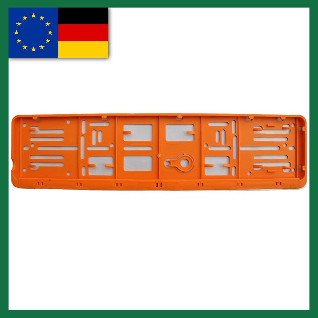 wechselkennzeichen rahmen farbe deutschland eu 520. Black Bedroom Furniture Sets. Home Design Ideas