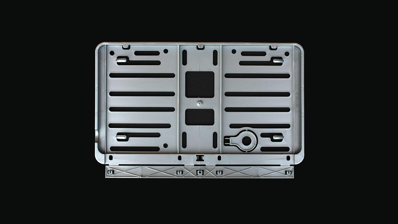 Wechselkennzeichen Rahmen – Farbe – Schweiz – 300×160