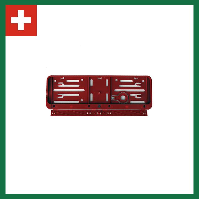 Wechselkennzeichen Rahmen – Farbe – Schweiz – 300×80