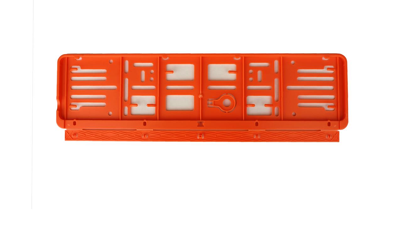 Wechselnummernrahmen – Farbe – Schweiz – 500×110