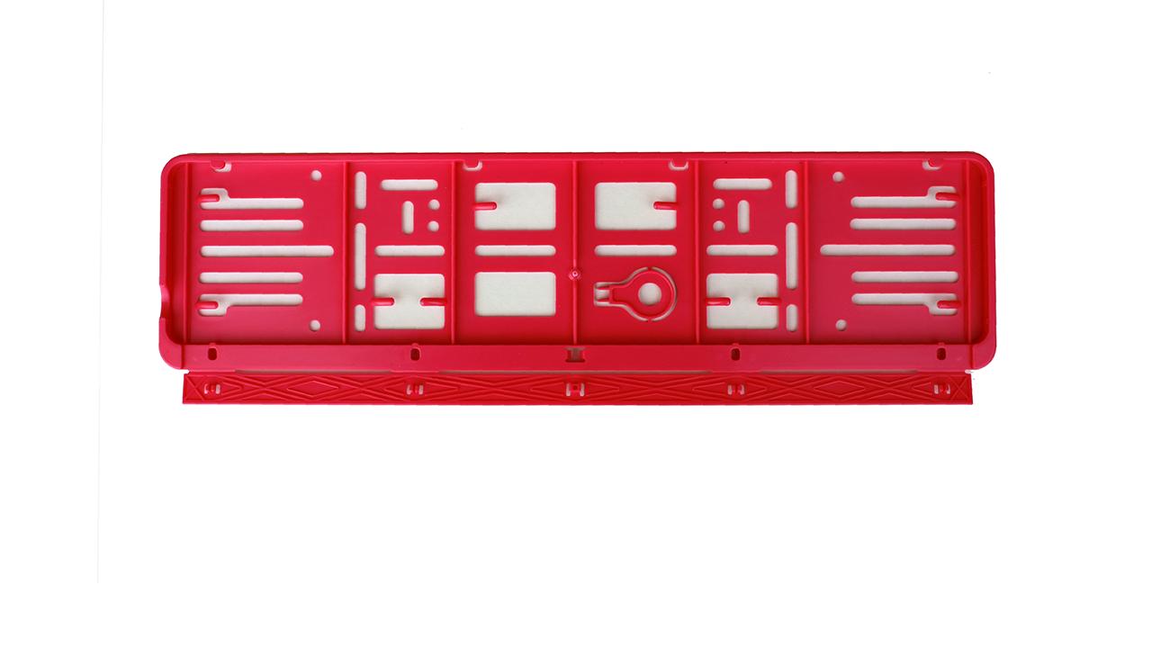 Wechselkennzeichenhalter – Farbe – Schweiz – 500×110