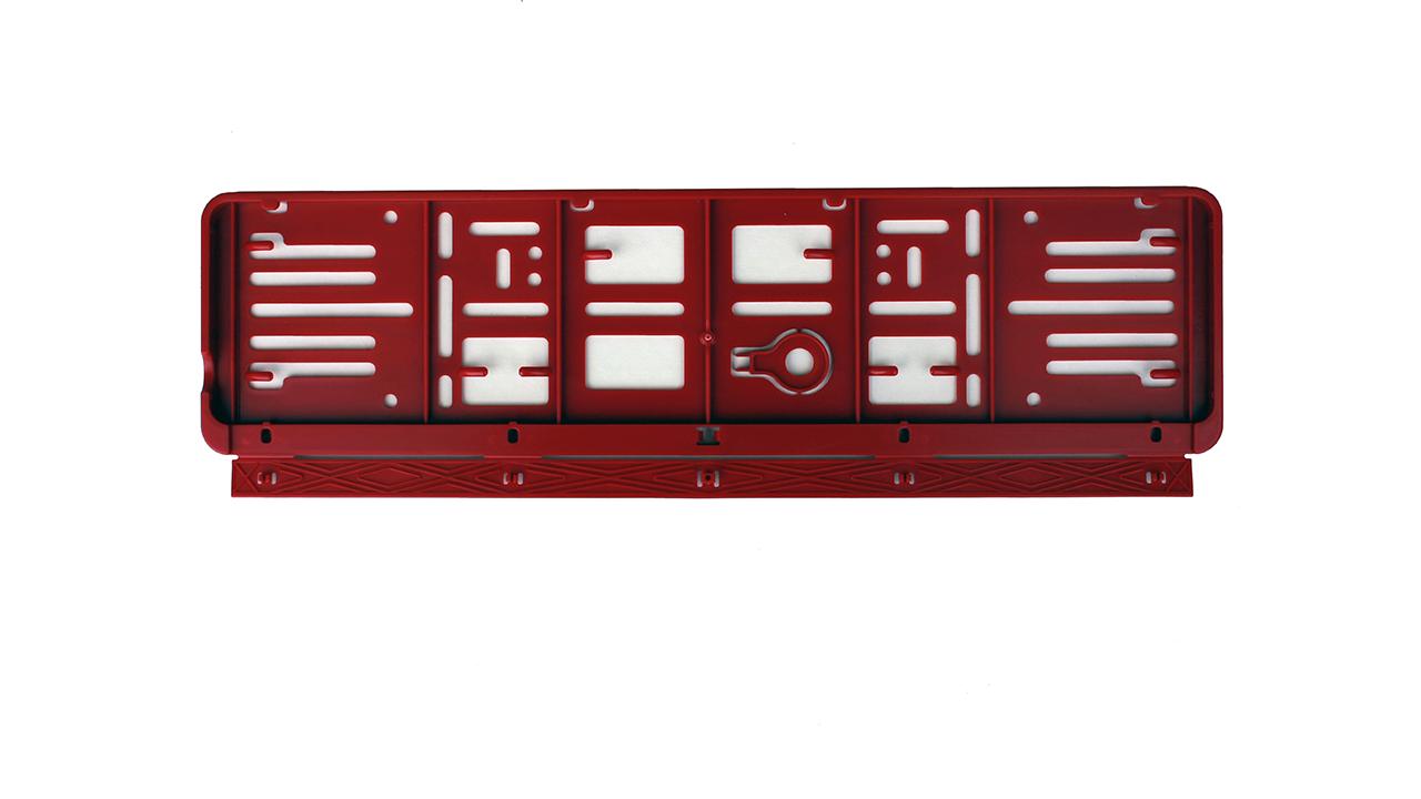 Wechselkennzeichen Halter – Farbe – Schweiz – 500×110