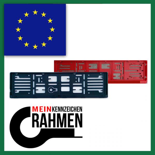 Kennzeichenhalter EU
